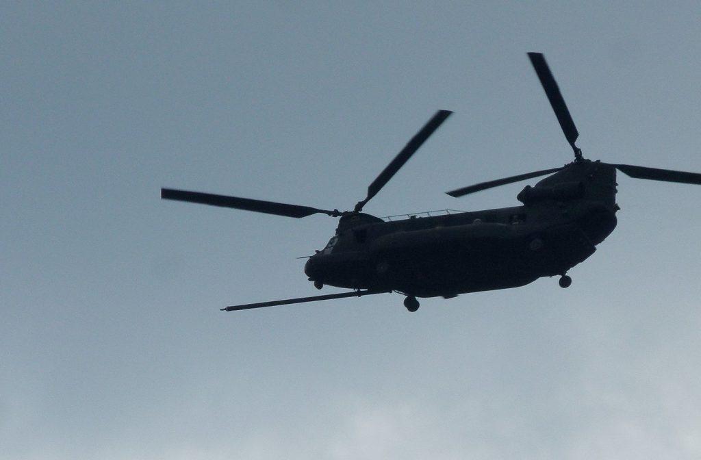 Helikopter aua kohal