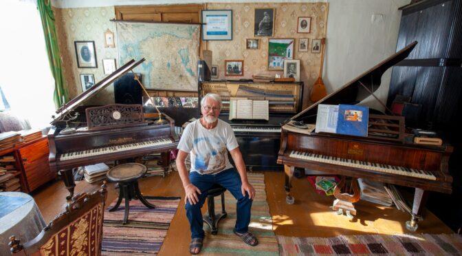 Helilooja Alo Põldmäe teeb rahvusliku klaveriga arheoloogi tööd