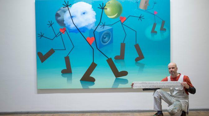 Külmetava kunstniku portreest koos Kaido Olega